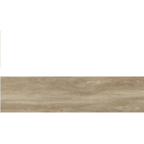 Carrelage imitation parquet rectifié vieilli mat 29.5x120 BELFAST TEAK R10 - 1.06 m²
