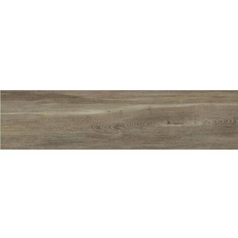 Carrelage imitation parquet rectifié vieilli mat 29.5x120 BELFAST WALNUT R10 - 1.06 m²