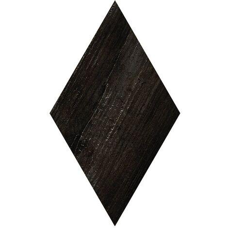 Carrelage losange imitation bois rect. 22x38cm ADAMANT OKINAWA CARBON - 0.504m²