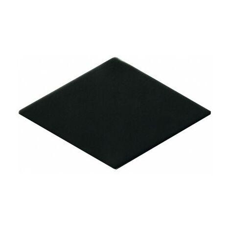 Carrelage losange noir 15x8,5cm ROMBO10 CARBO - 0.27m²