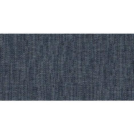 Carrelage Lyra Woven Jean 60x15cm - vendu par lot de 1.26 m² - Bleu