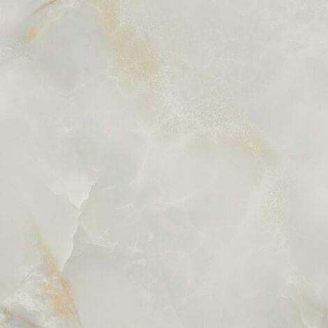 Carrelage marbré rectifié poli 60x60 cm QUIOS SILVER PULIDO - 1.08m²