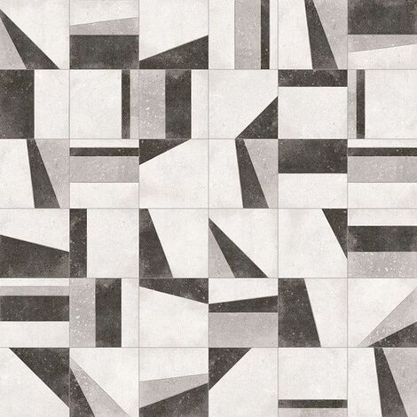 Carrelage motifs anciens 20x20 cm Osaka Blanco - 1m²