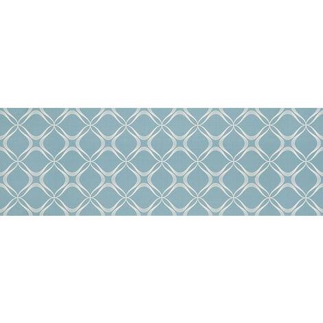 Carrelage Octans Blue Paper 75x25cm - vendu par lot de 1.13 m² - Blanc, Bleu