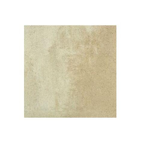 Carrelage pierre reconstituée BASIQUE sable 40x40x2.5 cm - 1m²