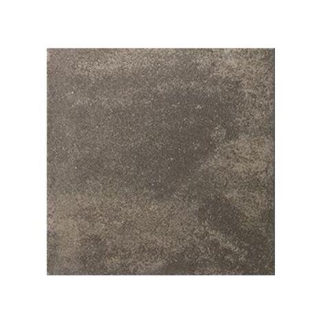 Carrelage pierre reconstituée TESSERA anthracite 50x50x2.5 cm - 1m²