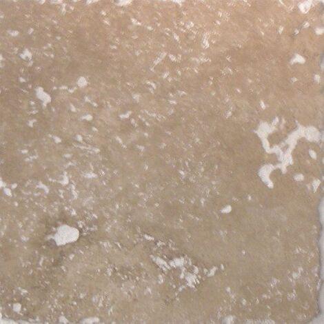 Carrelage pierre Travertin vieilli noce 15x15 cm - 1m²
