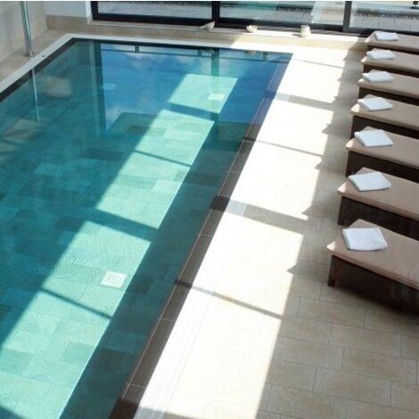 Carrelage piscine effet pierre naturelle QUARTZ GOLD 30.5x61.4.5 cm - 1