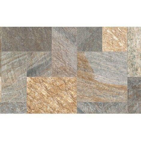 Carrelage piscine effet pierre naturelle SAHARA MIX 30x60 cm R9 - 1.08 m²