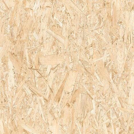 Carrelage rectifie imitation OSB bois agglomere STRAND 59.3X59.3 cm - 1.055 m²