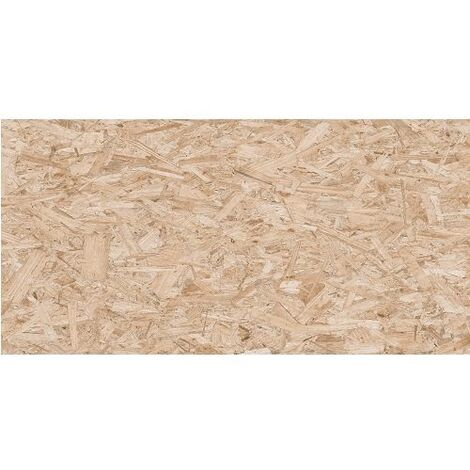 Carrelage rectifié imitation OSB bois aggloméré STRAND-R Avellana 59.3X119.3 cm - 1.42 m²