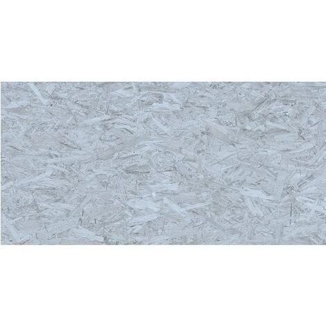 Carrelage rectifié imitation OSB bois aggloméré STRAND-R Azul 59.3X119.3 cm - 1.42 m²