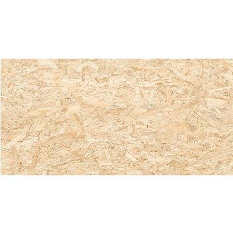 Carrelage rectifié imitation OSB bois aggloméré STRAND-R Natural 59.3X119.3 cm - 1.42 m²