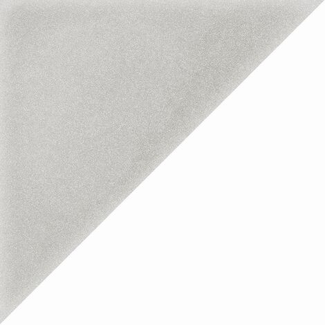 Carrelage scandinave triangulaire gris 20x20 cm SCANDY Humo - 1m²