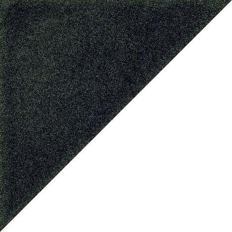 Carrelage scandinave triangulaire noir 20x20 cm SCANDY Antracita - 1m²