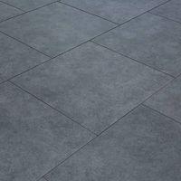 Carrelage sol exterieur pour terrasse - 60 X 60 cm - Gris Pierre Bleue