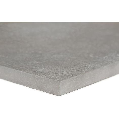 Carrelage sol exterieur pour terrasse - Gris Fossile