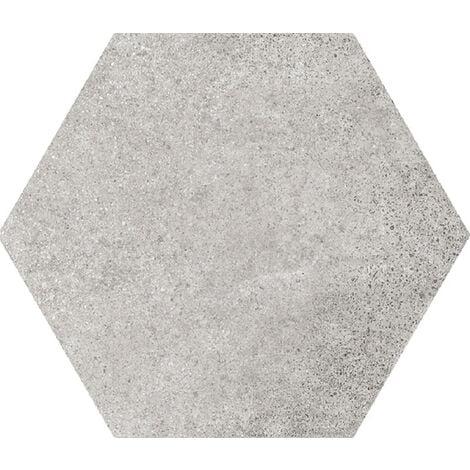 Carrelage tomette 17.5x20 - HEXATILE CEMENT GREY - 22093 R10 - 0.71m²