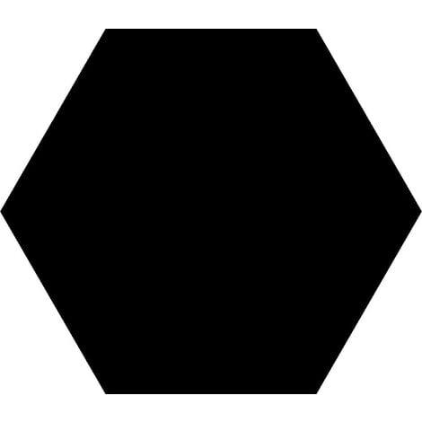 Carrelage tomette noire 33x28.5 OPAL NOIR - 1m²