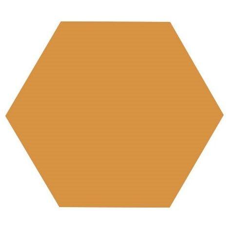 Carrelage tomette orange 25x29cm TOSCANA OCRE - 1m²