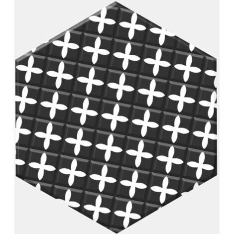 Carrelage tomette patchwork style ciment 33x28.5 GRAZIA DECOR - 1m²