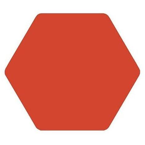 Carrelage tomette rouge 25x29cm TOSCANA ROJO- 1m²