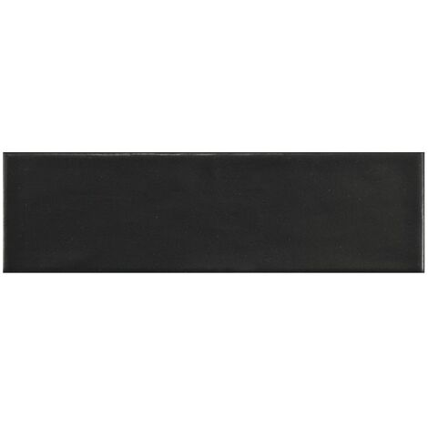 Carrelage uni mat noir anthracite 6.5x20cm COUNTRY ANTHRACITE MAT - 21553 – 0.5m²