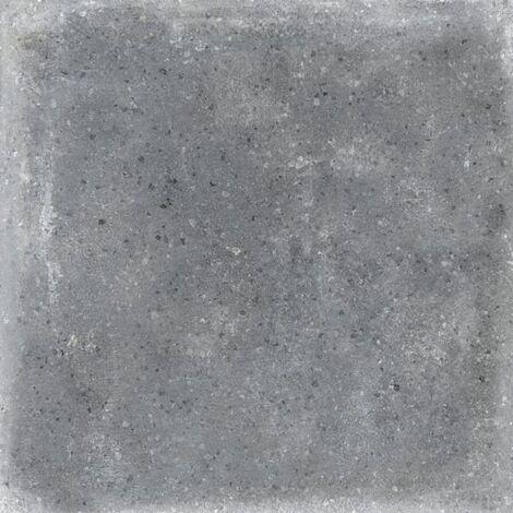 Carrelage uni patine anthracite 20x20 cm Orchard Grafito anti-derapant R13 - 1m²