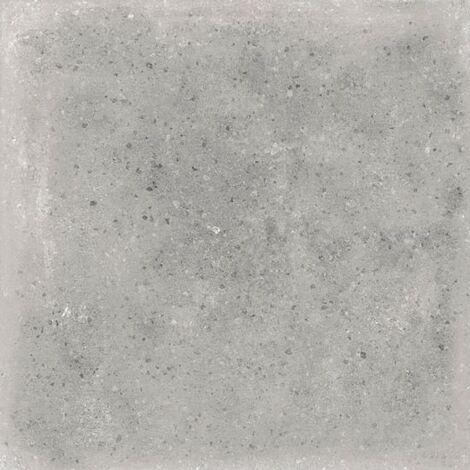 Carrelage uni patine gris 20x20 cm Orchard Cemento anti-derapant R13 - 1m²