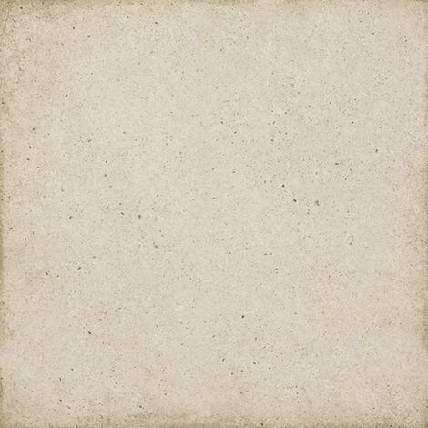 Carrelage uni vieilli beige 20x20 cm ART NOUVEAU BISCUIT 24390 - 1m²