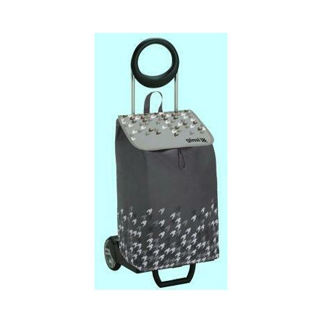 Carrelli carrello spesa gimi ideal tortora cmL38xp39xh102 aperto
