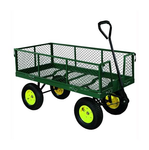 Carrello da giardino in acciaio vigor 4 ruote demetra for Vendita materiale da giardino