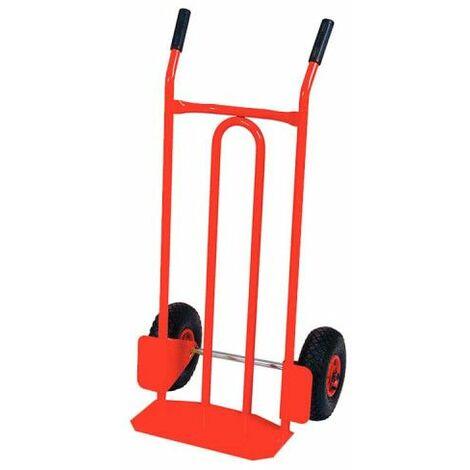 Carrello KS TOOLS Ruote pneumatiche - 430x550x1100mm - 160.0225