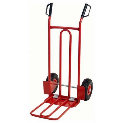 Carrello KS TOOLS Ruote pneumatiche - 775x550x1100mm - 160.0226