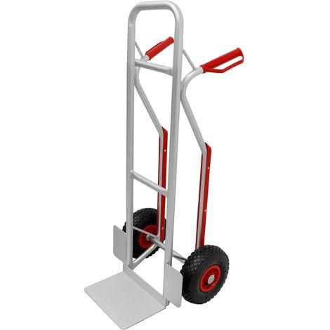 Carrello manuale portatutto da trasporto portapacchi montascale 2 ruote 150 kg