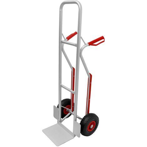 Carrello manuale portatutto da trasporto portapacchi montascale 2 ruote 200 kg