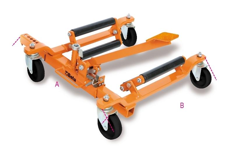 Carrello per movimentazione veicoli beta 3009