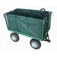 carrello pieghevole alto con sacco - l107 x p55 x h85.