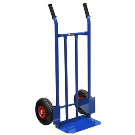Carrello portacasse ruote pneumatiche portata 250 kg - Salone