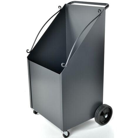 CARRELLO PORTALEGNA CON RUOTE 40X40X80H (con ruote h90)