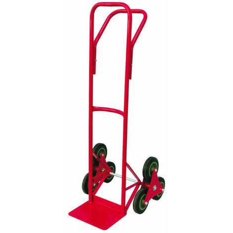 Carrello portapacchi 3 ruote portasacchi portata 150 kg utilia