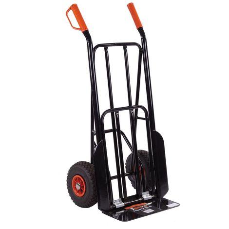 Carrello portapacchi bravetta ribaltabile con ribalta ruote pneumatiche 200kg