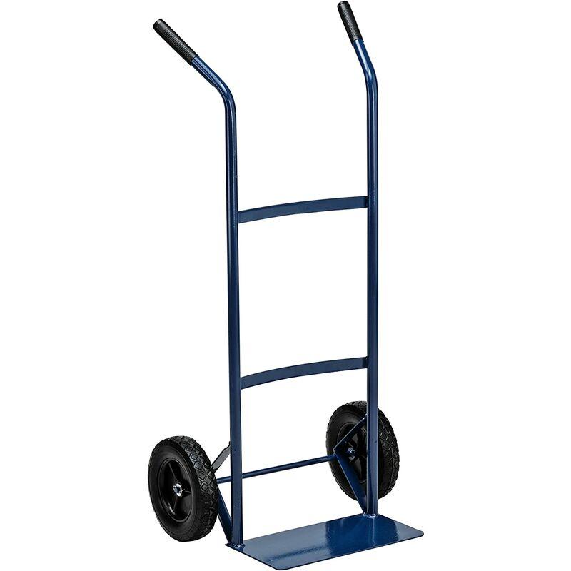 Carrello trasporto leggero ruote rigide portata max. 80 Kg - GARDEN FRIEND