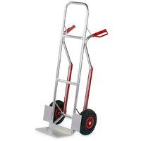Carrello portapacchi Mistral pedana fissa 200kg portatutto alluminio ruote pneumatiche