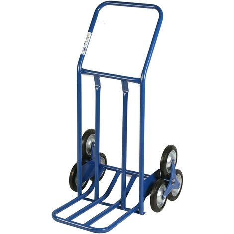 Carrello Portapacchi Per Scale 120 Kg In Metallo Tosini Blu