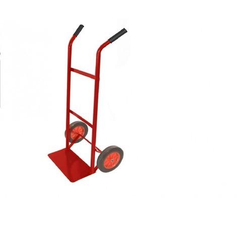 Carrello portapacchi ruote piene portatutto traslochi portata 100Kg BRIXO JOLLY