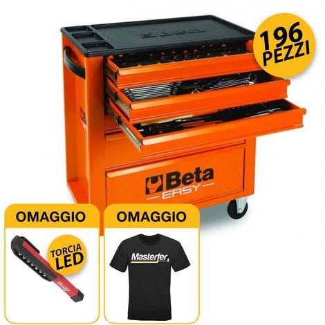 """main image of """"Carrello portautensili BETA EASY + Assortimento 196 utensili beta INDUSTRIA C24E/VO"""""""