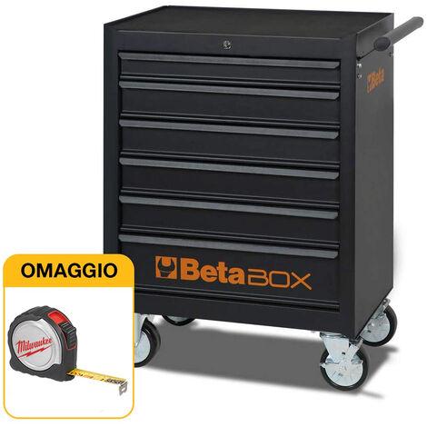 """main image of """"Carrello portautensili vuoto BETA C04 BOX con sei cassetti con OMAGGIO"""""""