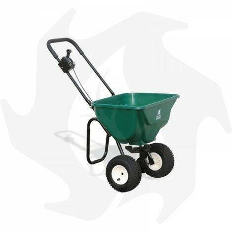 Carrello spandiconcime professionale con ruote pneumatiche da 30Kg - Bottos 2030 Plus
