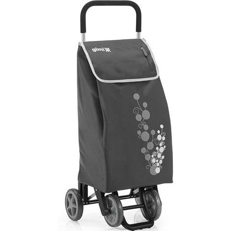 Carrello spesa twin gimi 4 ruote colore grigio